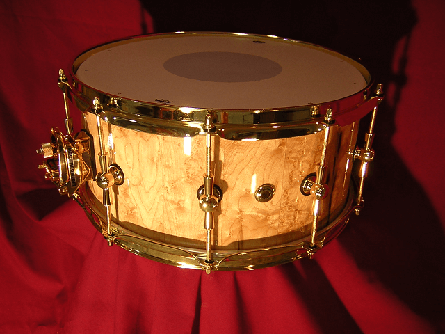 Birdseye Maple Snare Drum